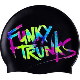 Funky Trunks Cap - Bonnet de bain Homme - noir